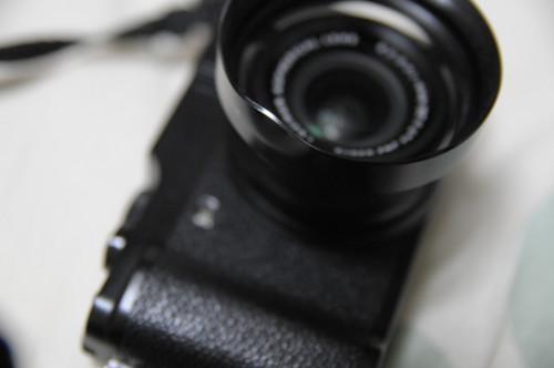 曲がった LH-X10 の写真