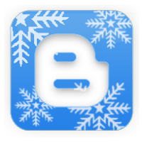 Blogger Christmas Logo